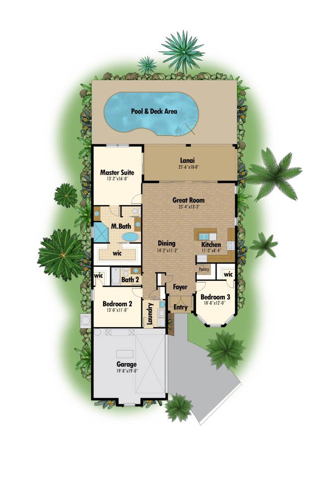 1680 Floor Plan